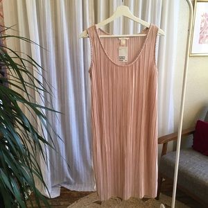 H&M pleated Dress NWT 20s look